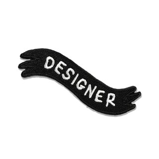 DESIGNER IRON ON PATCH