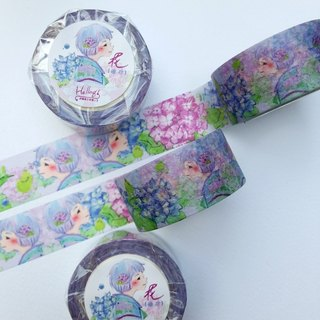 Blooming Series - Spring Hydrangea paper tape