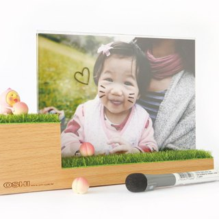 White board function photo frame