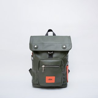 [Chinese Valentine's Day gift 88% off] 2018 twin series - robot bag - green orange contrast