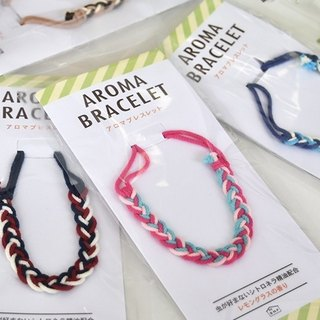 aroma fragrance anti-mosquito rope bracelet 6 color SHF