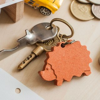 【Customized Gifts, Christmas Gifts, Birthday Gifts】 Hedgehog Kids ┇ Customized Key Chains can be engraved (one group of two)