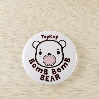 ToyKey toys ► Boom Bear Bear ◄ club badge 2