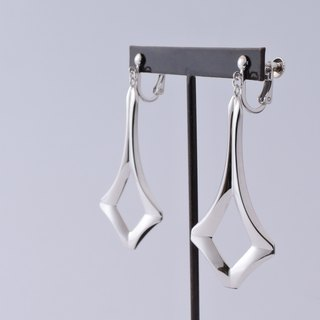 swing earrings = silver 925 ear-clips =
