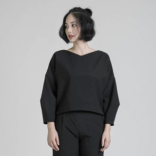 Probe Explore three-dimensional tailored top_8AF002_Black