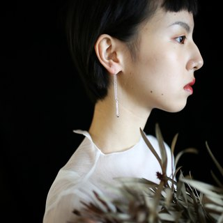 [Match] [Sealand sealand] independent design | 925 silver original small match match ear earrings