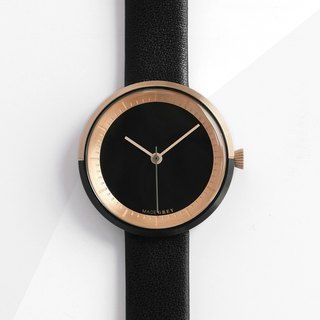 TWO-TONE BLACK MG003 MINI | LEATHER BAND