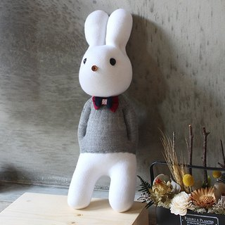 Handmade healing system - gentle gentleman (Hui Shan male rabbit) design models