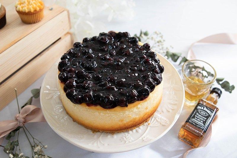 一整顆藍莓起司蛋糕6吋