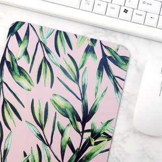 Designer Mouse Pad Pink and Green Desk Mat Desk Accessories For Women