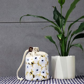 Small things storage ~ flower bouquet pocket (white flower)