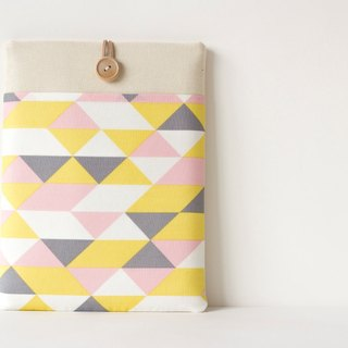 Laptop case Macbook cover PC Case / Pink Triangle