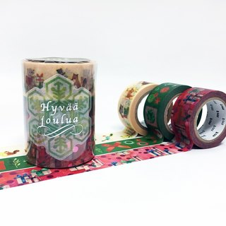 Mt and paper tape 2016 Christmas [Christmas Group-B (MTCMAS65)] Limited Edition out of print