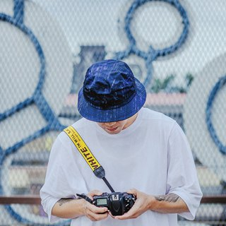 Bucket Hat - Navy Splash