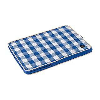 Lifeapp Pet Relief Sleeping Pad Large Plaid---S (Blue White) W65 x D45 x H5 cm