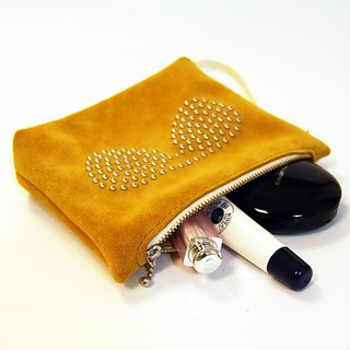 Yellow Rong Pi nail nail cosmetic bag / clutch bag