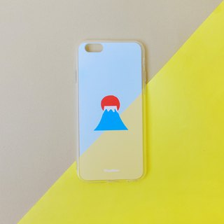Fuji mountain-snow cone phone case