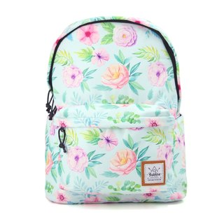 Serenity Garden  Flowers in Maze  Backpack
