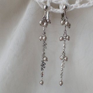 Lightup workshop - earrings with pearls, SWAROVSKI ELEMENTS
