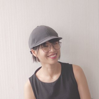 HC-H43 soft elastic big head short short hat