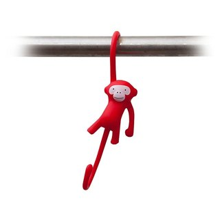 Just Hanging - Kitchen Hooks - Pack of 3 - Red