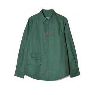 oqLiq - Display in the lost - Heart Shirt (Dark Green)