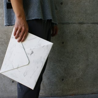 A4 Marble Pattern Envelope (White)