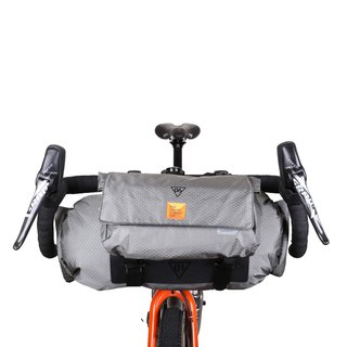 WOHO Bike Xtouring Ultralight Handle-bar Bag DRY & Add-on Bag Bundle
