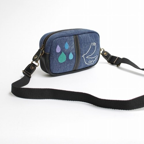 Namidahat Embroidery / Shoulder Pouch
