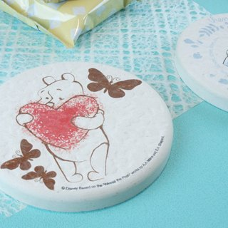 [Valentine's Day gift] Pooh - Genuine Disney Clay soil absorbent pad