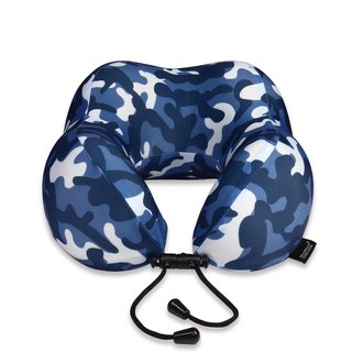 Murmur pressure neck pillow / camouflage blue NP019