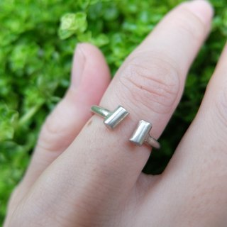 Infinite sterling silver ring