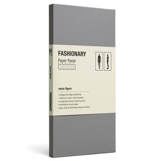 FASHIONARY template Card / M version / stature