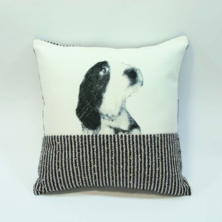 Embroidery small dog pillow 07-