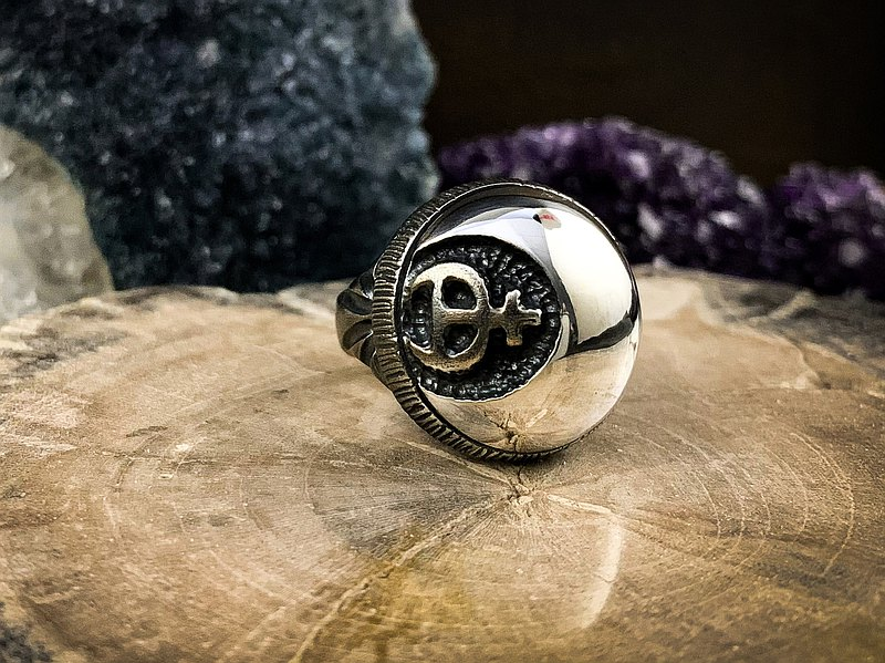奇想系列【煉金師の戒。焰月】925純銀戒指