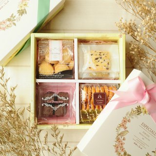 [Hong Kong and Macau Free Shipping] Happy Flower Gift Box (with bag) / Bow Ribbon / Gift / Gift