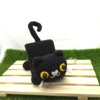 Cute animal series - cat card holder, mobile phone holder