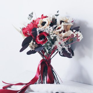 Wedding Bouquet!【Wise Goddess-Athena】Bamboo Dry Flower Wedding Flower Box