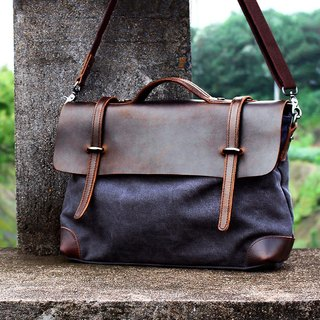 Handmade Leather Tote, Canvas Bag, Leather Satchel, Leather Messenger Bag, Leather Laptop Bag, Canvas Messenger Bag, Shoulder Bags