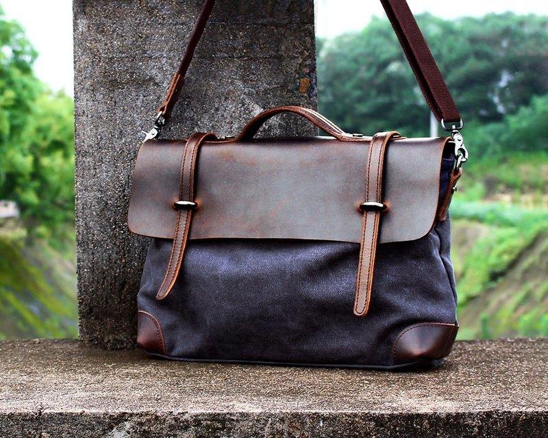 4637b8ed03eb Handmade Leather Tote