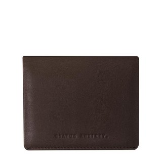 LENNEN Business Card Holder _Chocolate / Brown