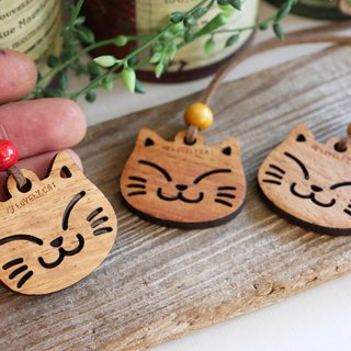 Cat necklace (wooden)