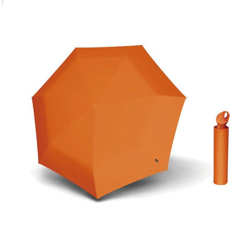 Knirps德國紅點傘【Floyd】超輕三折自動傘 -Orange
