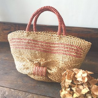 Doomed to weave a walking bag