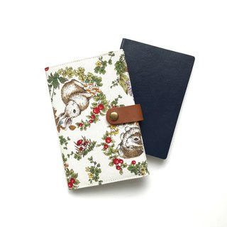 Passport Holder| Rabbit |Forest |White