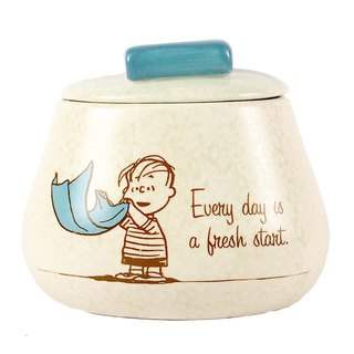 Snoopy Ceramics Collection Box - Blanket (Hallmark-Peanuts Snoopy Dress)