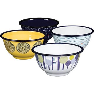 SUSS-UK imports Wild and Wolf Four Seasons Bowl (set of four) - Spot