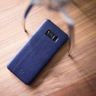 Alto Samsung Galaxy S8 Original Leather Case – Navy