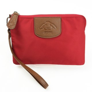 [Carry] Clutch - Vermilion clutch / purse / lightweight bag / Mother's Day Preferred
