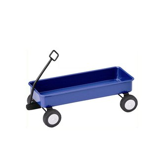 Japan Magnets retro industrial wind table cute stationery / sundries storage trolley (blue)